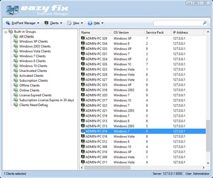 Eazy Fix EndPoint Manager screenshot
